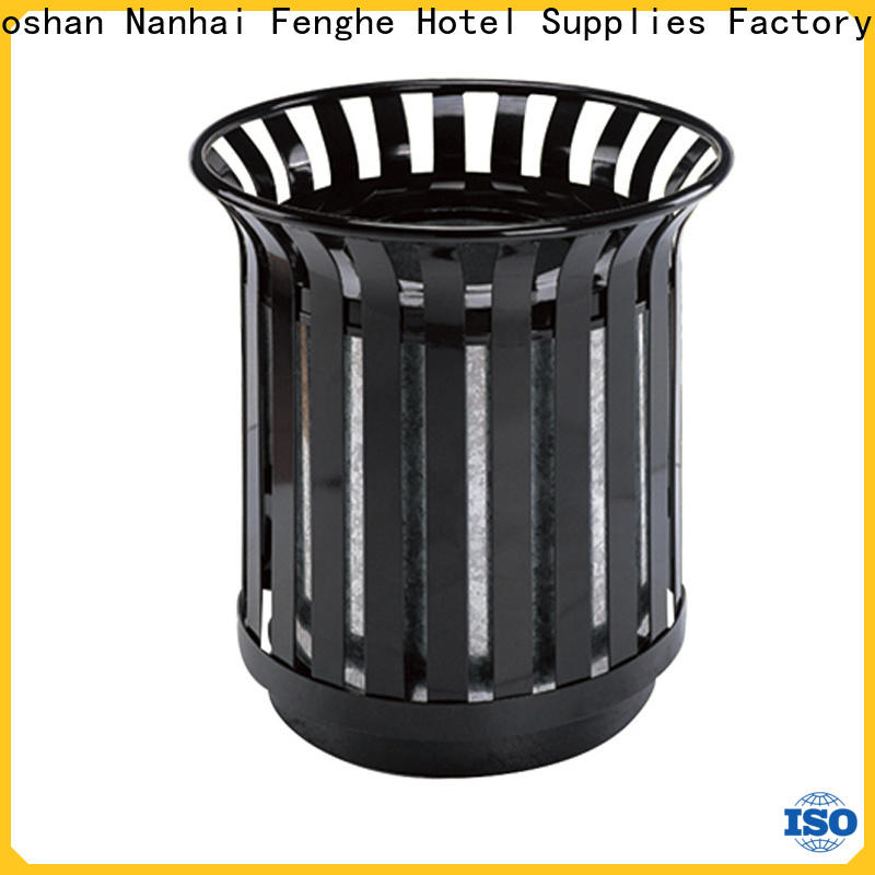 Fenghe deluxe outdoor trash can chinese manufacturer for lobby