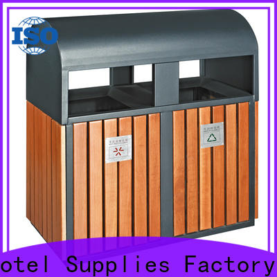 deluxe outdoor garbage cans metal chinese manufacturer for lobby