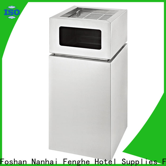 Fenghe professional cigarette disposal bin overseas market for guest rooms