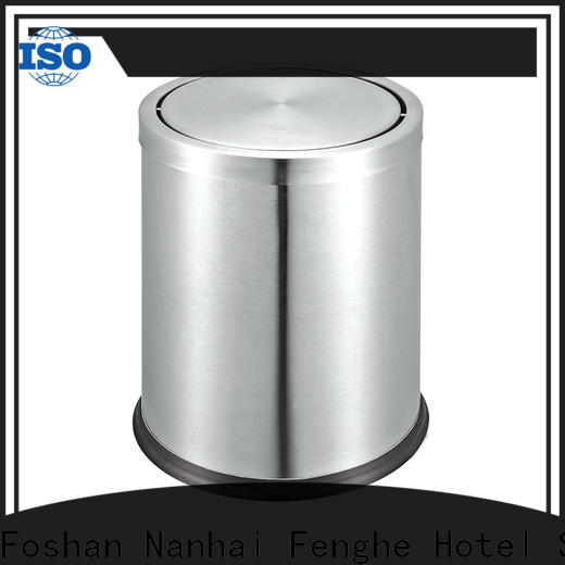 Fenghe eco hotel room trash cans factory for guest rooms
