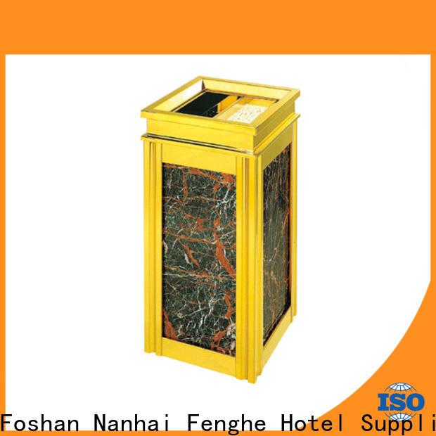 Fenghe design smoking bin overseas market for guest rooms