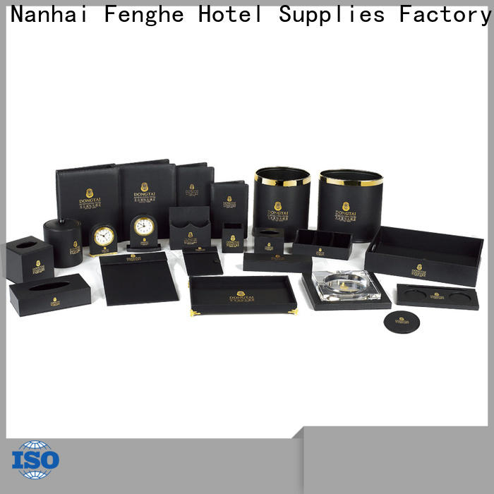 Fenghe menu leather document folder leading company for hotel