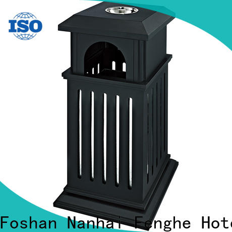 dedicated service outdoor bin iron chinese manufacturer for hotel