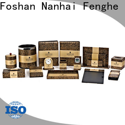 Fenghe customized hotel binder trader for guest house