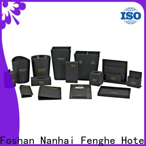Fenghe color hotel binder awarded supplier for guest house