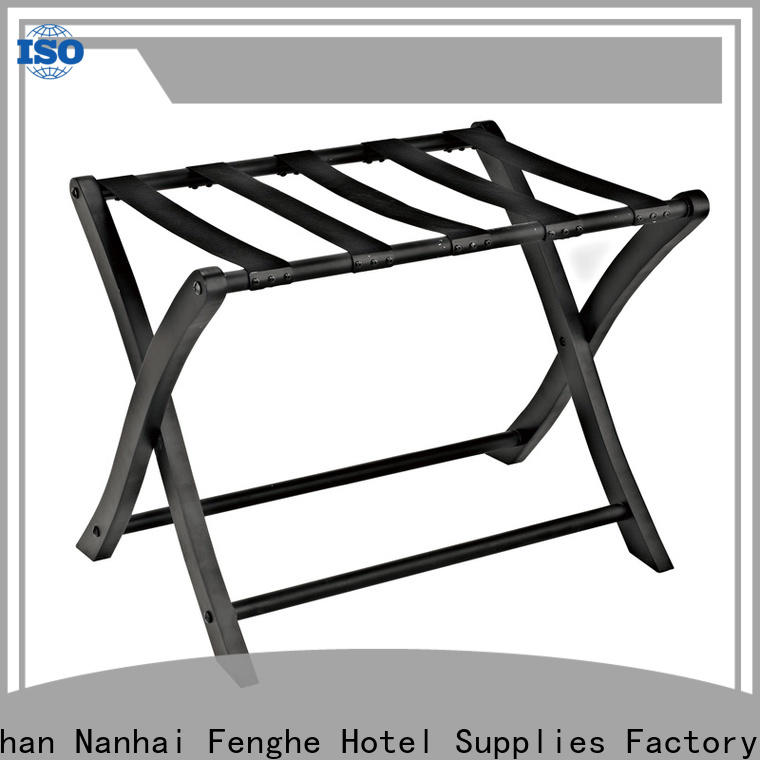 Fenghe customized hotel luggage racks wholesaler trader for campus