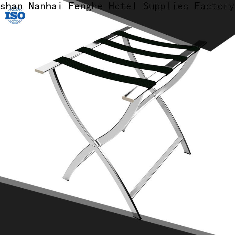 Fenghe high reliability hotel folding luggage racks supplier for gym