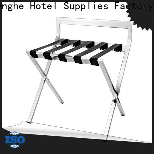 high reliability hotel room luggage holder rack supplier for campus