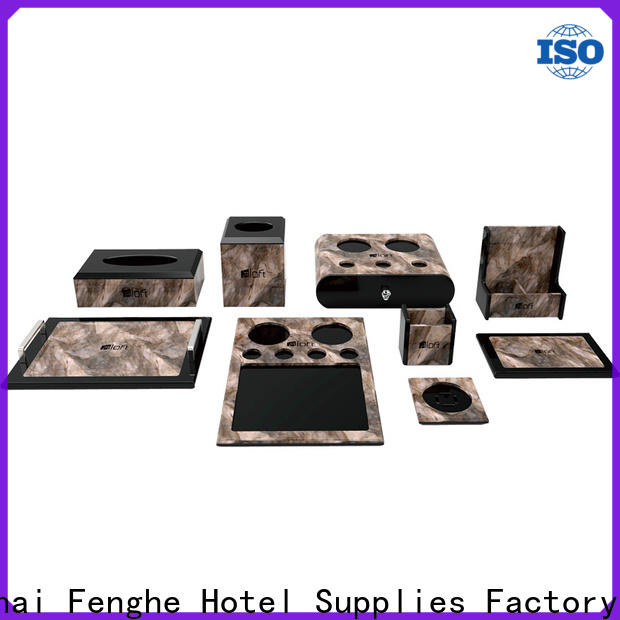 Fenghe high reliability acrylic bathroom accessories overseas trader for hotel