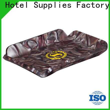 Fenghe rotating white acrylic tray quick transaction for hotel