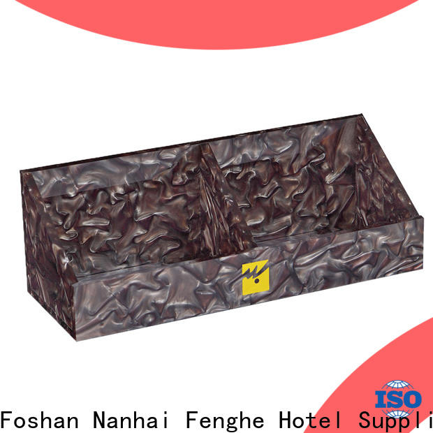 Fenghe paper acrylic tray overseas trader for distribution