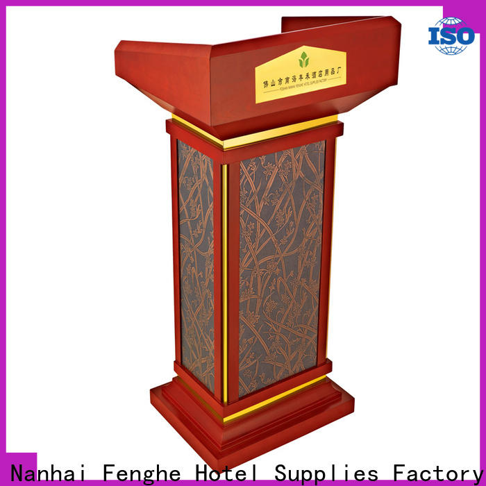 Fenghe hotel stage rostrum source now for seminars