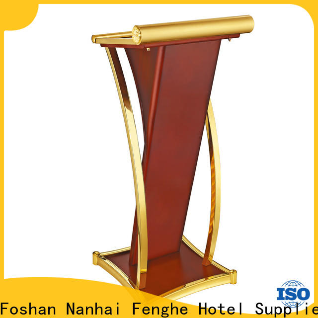 Fenghe trash rostrum stand for conferences