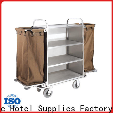 Fenghe customized hotel cleaning trolley factory for hotel