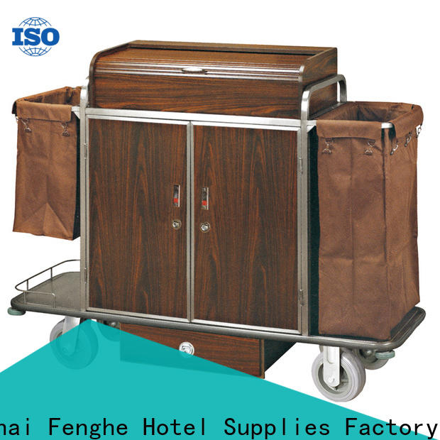 Fenghe customized hotel cleaning trolley trader