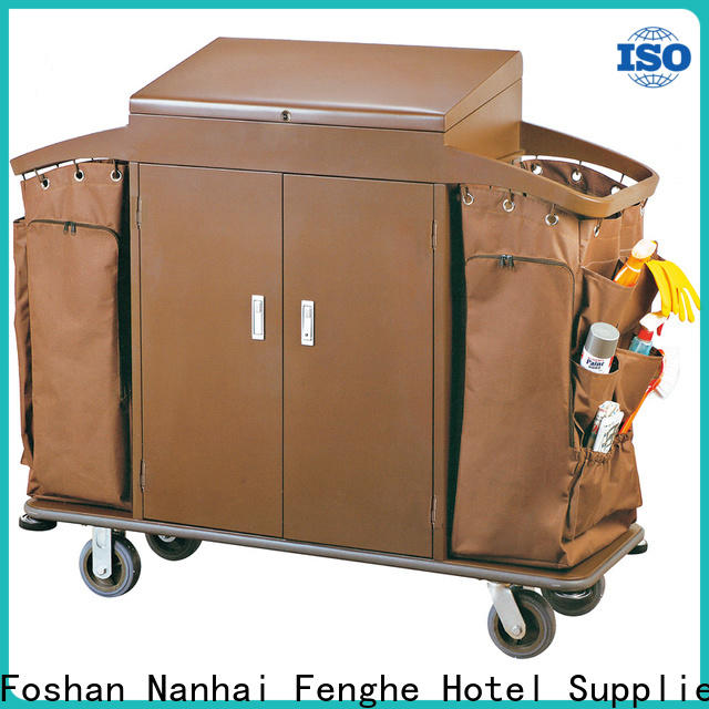 Fenghe professional hotel laundry trolley trader for importer