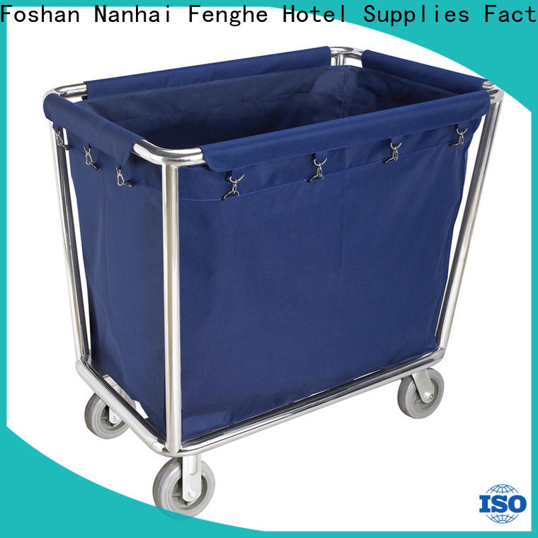 customized hotel housekeeping maid cart trolley linen factory for wholesale