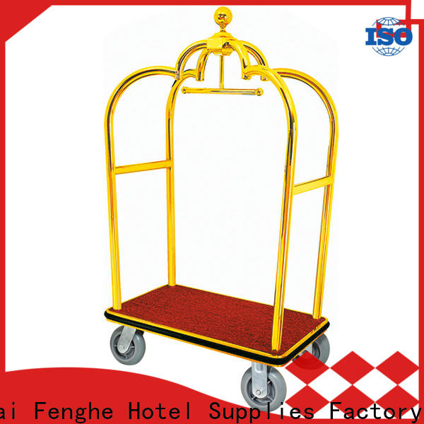 Fenghe lobby bellman cart order now for motel