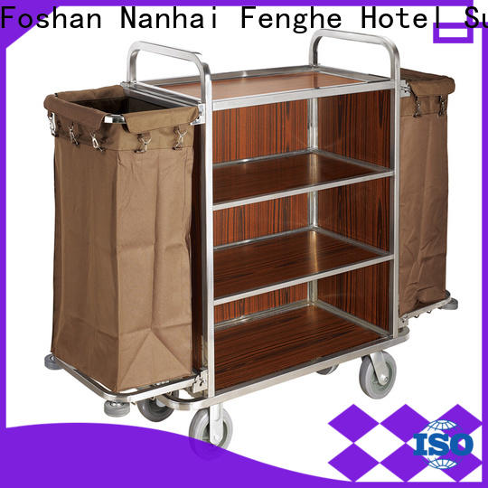 Fenghe metal hotel cleaning trolley inquire now