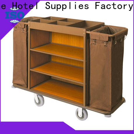 Fenghe stainless hotel cleaning trolley inquire now for wholesale