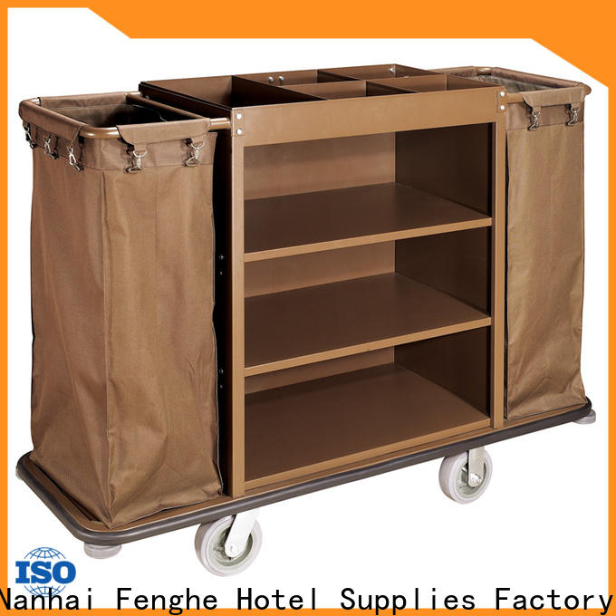 Fenghe professional hotel laundry cart trader for hotel