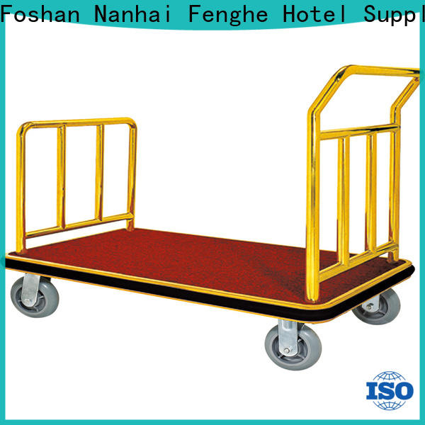 Fenghe OEM ODM hotel luggage trolley overseas trader for gym