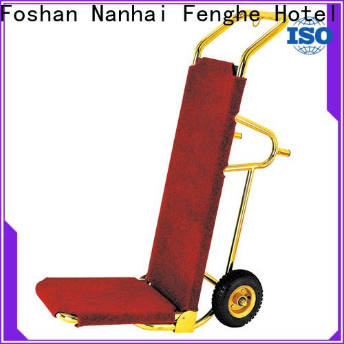 Fenghe high reliability hotel luggage carrier order now for campus