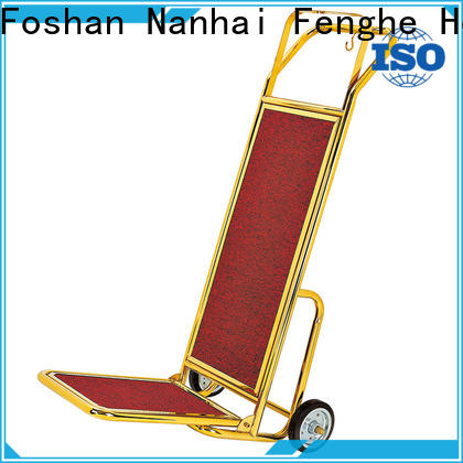 Fenghe high reliability‎ hotel luggage cart overseas trader for hotel