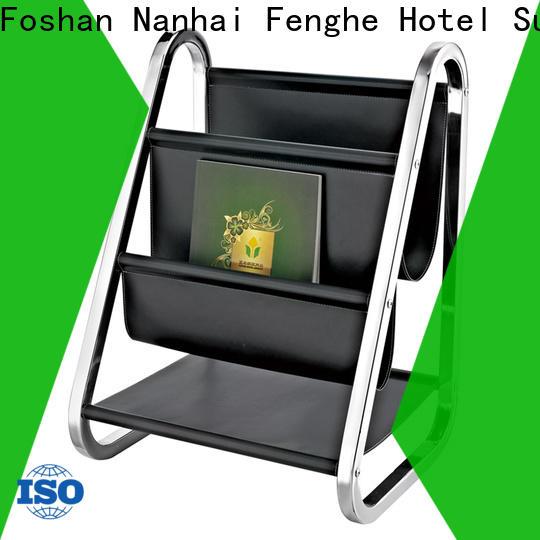 Fenghe golden hotel newspaper rack factory for hotel