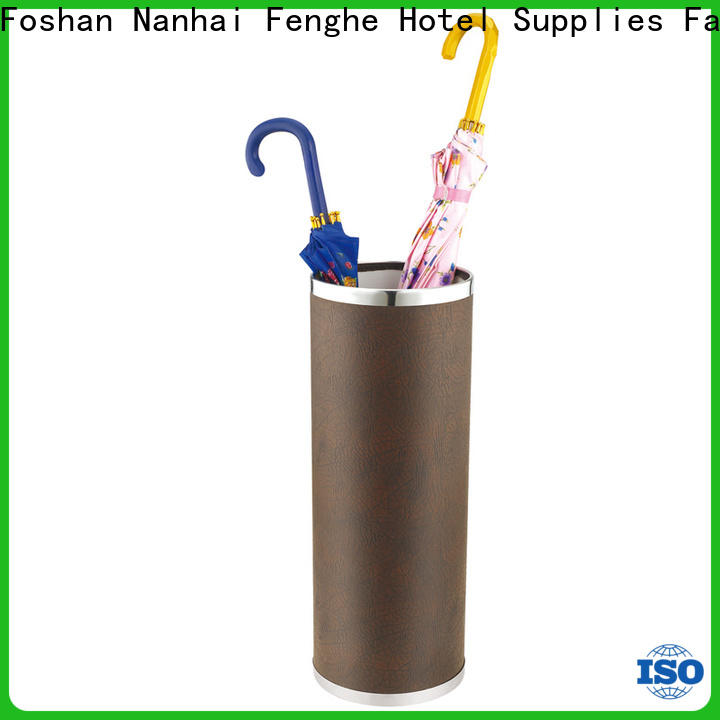 Fenghe high reliability hotel umbrella stand wholesaler trader for motel