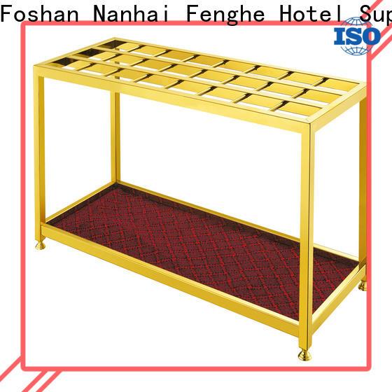 dedicated service metal umbrella holder steel wholesaler trader for motel