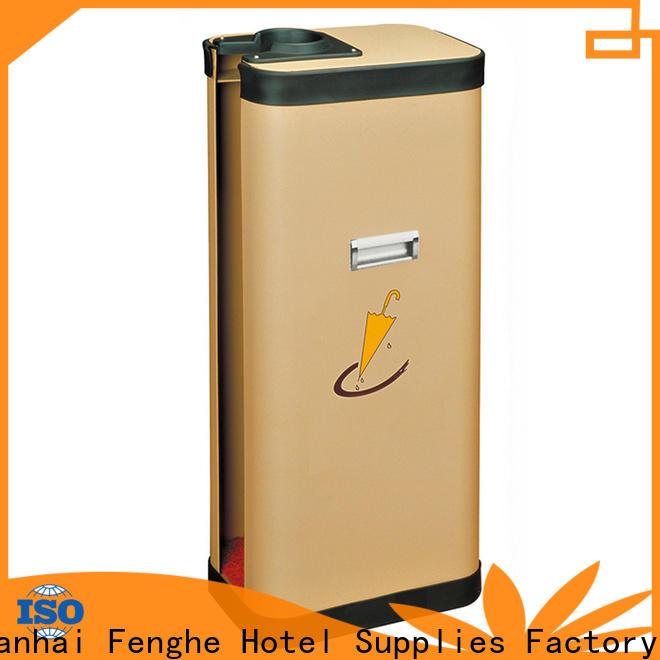 Fenghe stainless umbrella bag dispenser solution expert for hotel