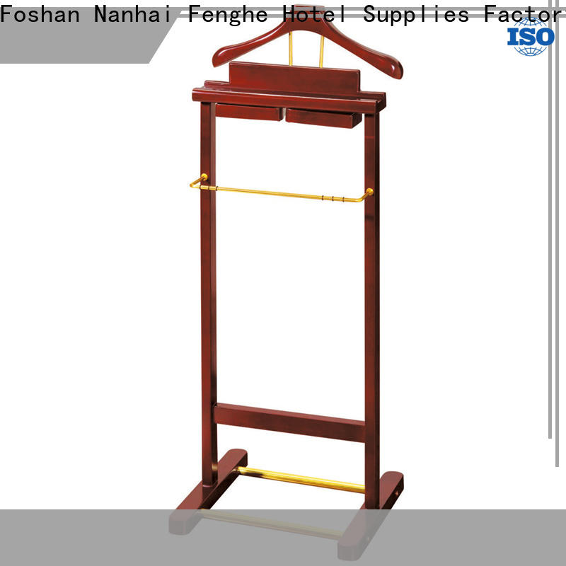 Fenghe 5 star service clothes hanger stand factory for bankquet halls