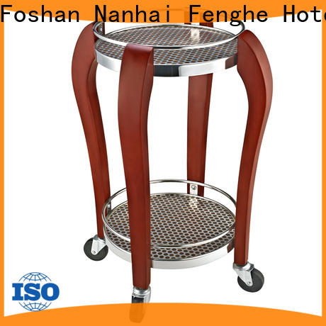 Fenghe hand serving trolley trader for guest house
