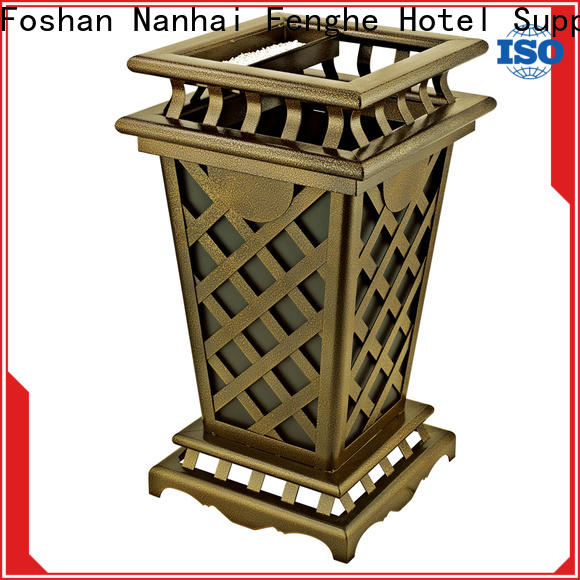 Fenghe dedicated service outdoor garbage bins manufacturer for public house