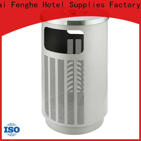Fenghe dedicated service outdoor trash can storage chinese manufacturer for public house