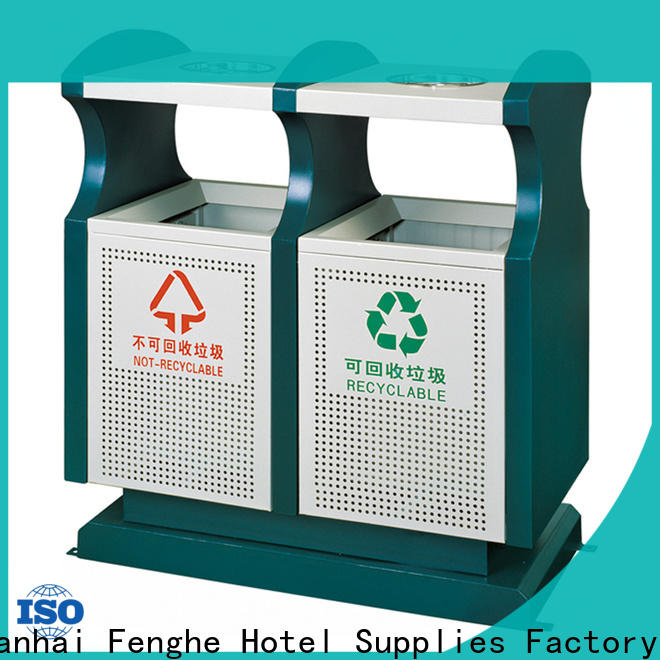Fenghe dedicated service outdoor trash can storage factory for public house