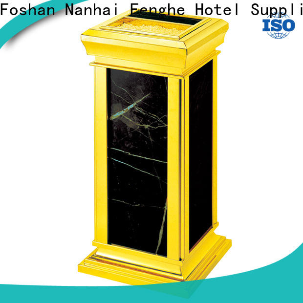 Fenghe decorative ashtray bin overseas market for hotel