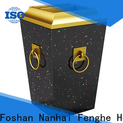 Fenghe decorative ash bin get latest price for hotel