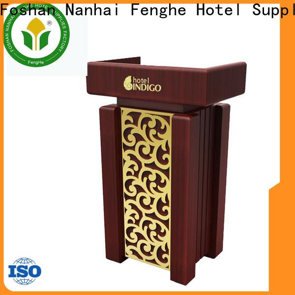 Fenghe 5 star service pulpit manufacturer for hotel industry