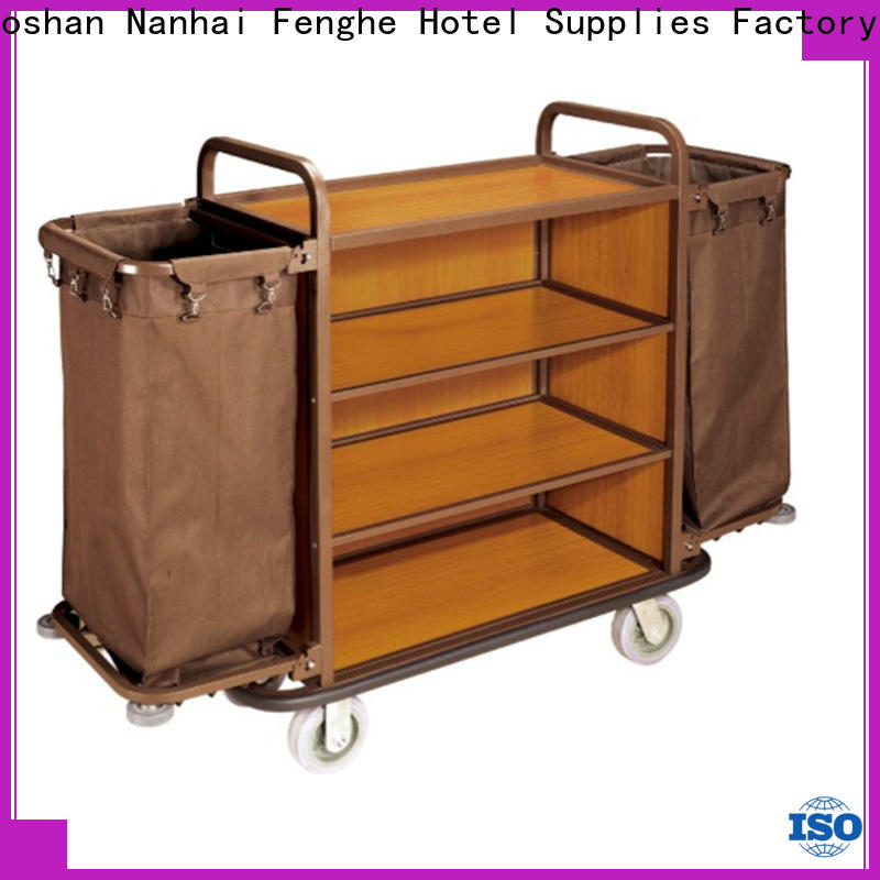 Fenghe steel hotel laundry trolley inquire now