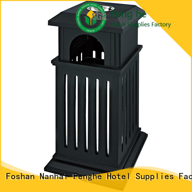 deluxe outdoor garbage cans flip manufacturer for lobby