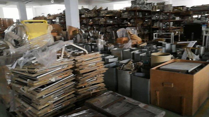 0-3FH metals warehouse