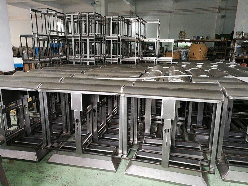 customized hotel luggage racks folding steel supplier for gym