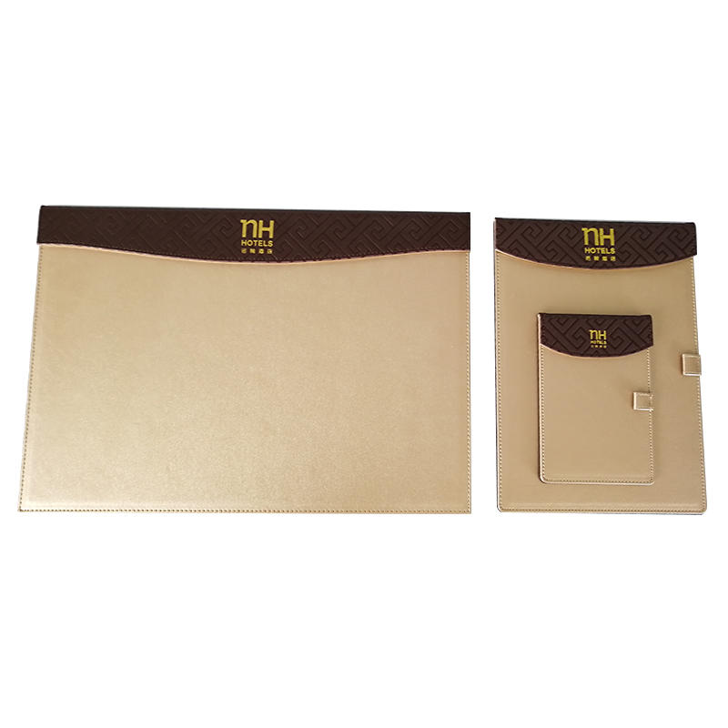 Customized logo hotel leather products,leather folder,leather tissue boxes