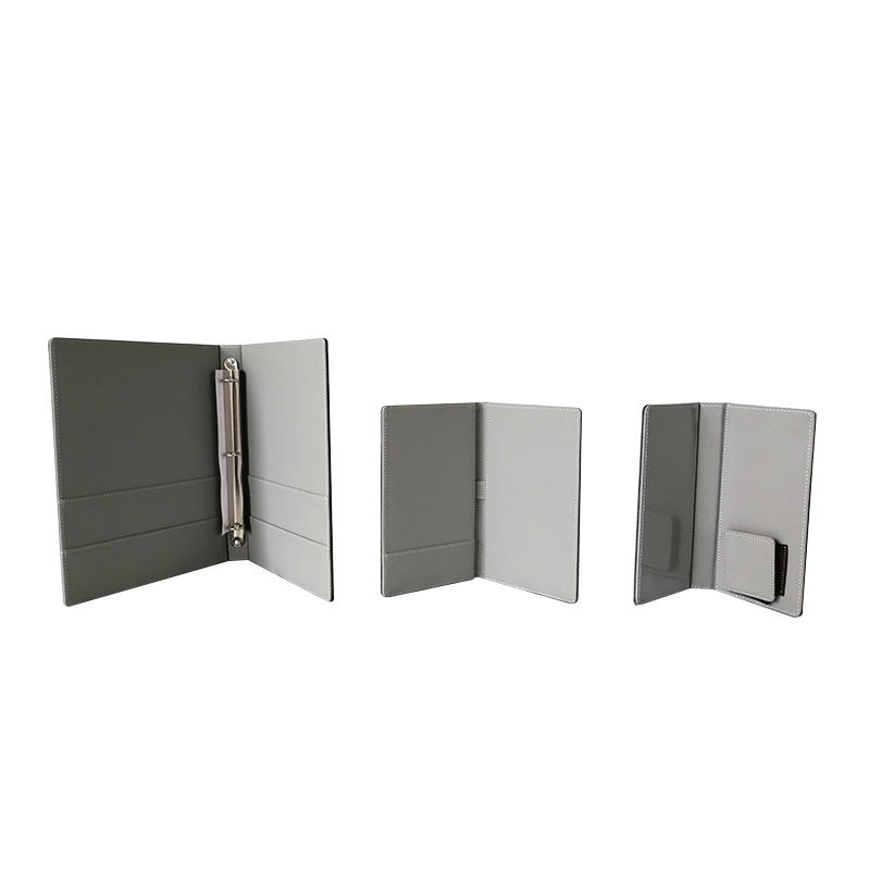 High-end leather products hotel room leather accessories set,leather holder
