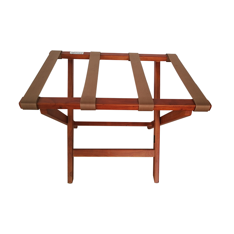 Fenghe-Hotel Suitcase Rack | Wood Foldable Luggage Rack for Hotel