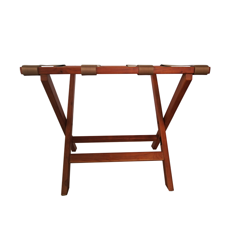 Fenghe-Hotel Suitcase Rack | Wood Foldable Luggage Rack for Hotel-1
