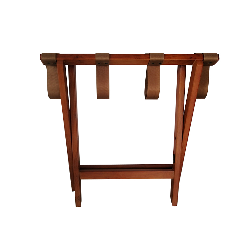 Fenghe-Hotel Suitcase Rack | Wood Foldable Luggage Rack for Hotel-3