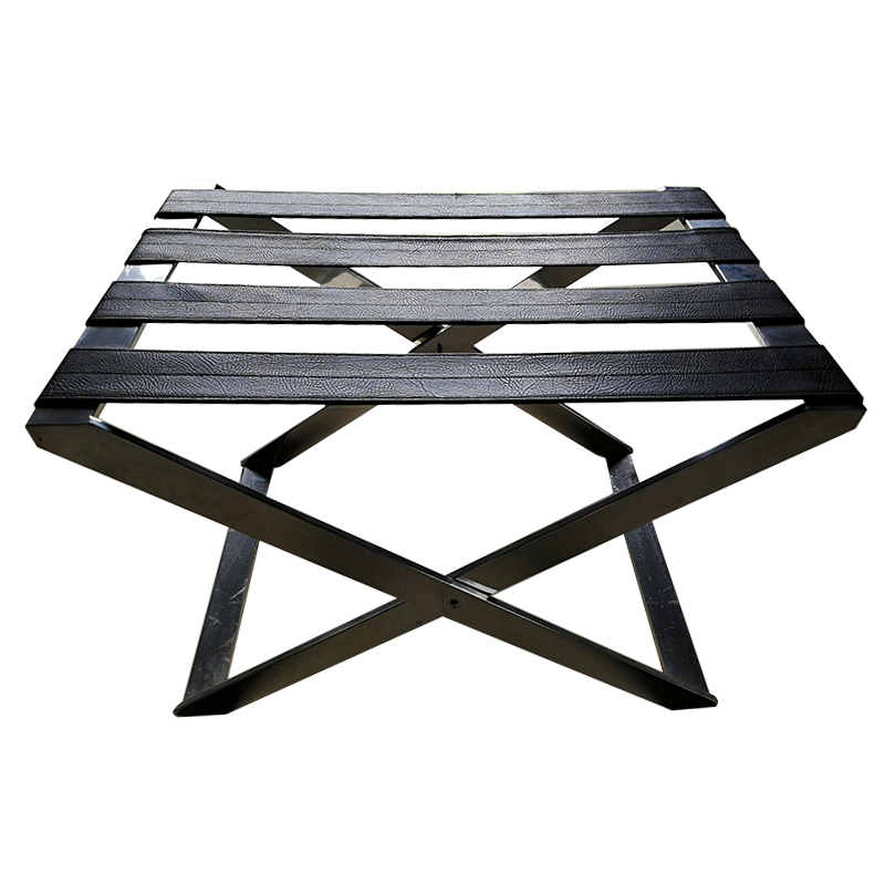 customized hotel luggage racks folding steel supplier for gym-1